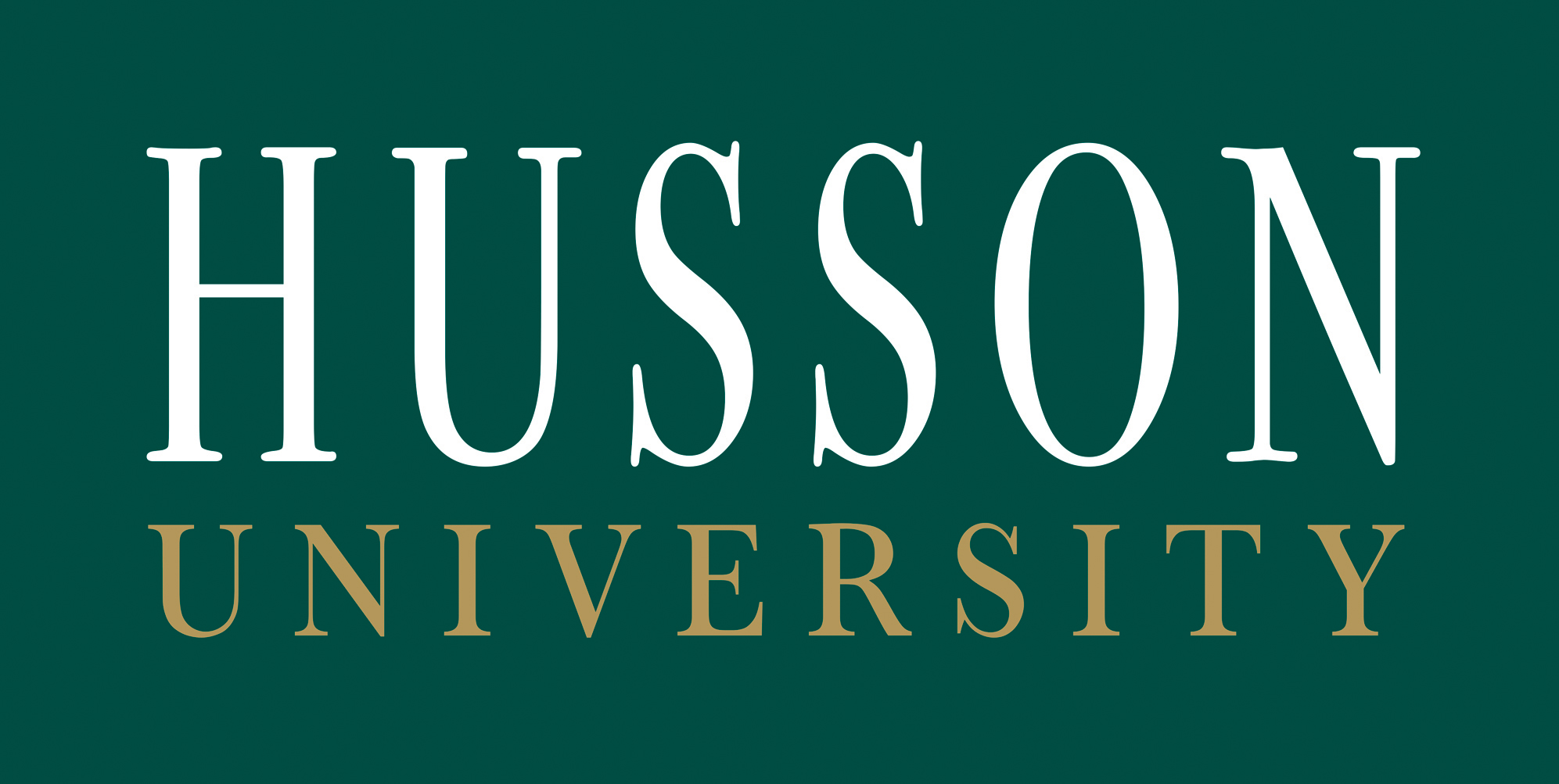 Husson Logo Color Large