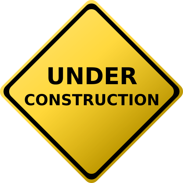 under construction sign hi